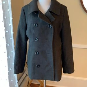 Style & Co. Coat Medium in EUC! Stretch and fitted